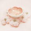 벚꽃시리즈 (간식볼-벚꽃송이볼)