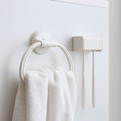 욕실 주방 리빙인테리어 흡착형 다용도 수건 정리홀더