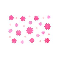 블랭코 스텐실도안515 꽃무늬 패턴(A5)