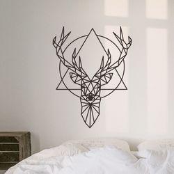 Deer 레터링 그래픽스티커 포인트스티커