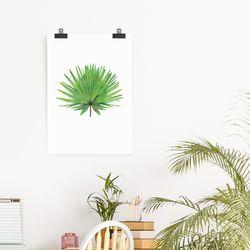 인테리어 식물 액자 Fan palm(A3)(메탈프레임포함)