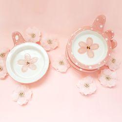 벚꽃시리즈 (간식볼-땡땡이UFO볼)