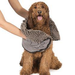 DGS 핸드포켓 강아지목욕 타올 강아지수건