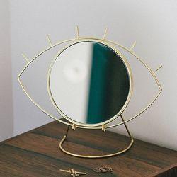 도이 싸이클롭스 화장대 탁상 거울 골드