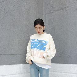 스미스 남녀공용 맨투맨 (2color)