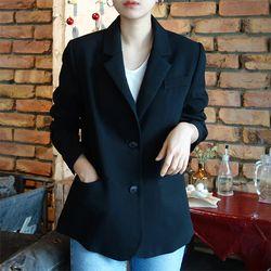 벨트 자켓 (4color)