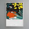 유니크 디자인 포스터 M 연못가졸졸졸 A3(중형)