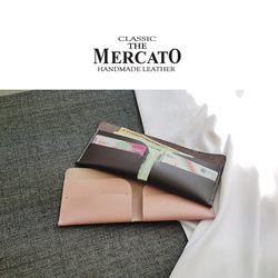 [메르카토]덮개형반지갑만들기가죽공예DIY