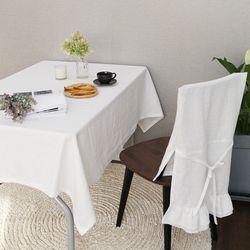 루젠 의자 등커버3 - 화이트 (단품)