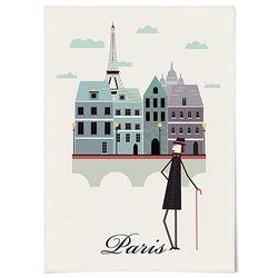 패브릭 포스터 F213 여행 벽에거는천 파리 [중형]