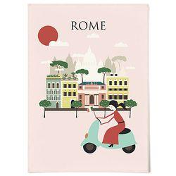 패브릭 포스터 F215 인테리어 그림 로마 [중형]