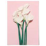 패브릭 포스터 F221 식물 꽃 인테리어 백합 [중형]