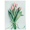 패브릭 포스터 F222 식물 꽃 벽에거는천 튤립 [중형]