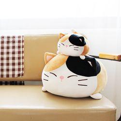 모찌모찌 까망군 고양이쿠션 S