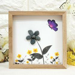 에코스톤나무액자만들기-꽃의정원