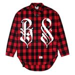 BS OVERSIZED WORK SHIRTS RED