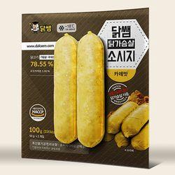 [닭쌤] 소세지 카레맛 10kg (100gX100팩)