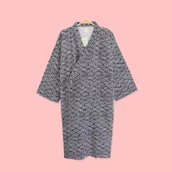 [예약판매 5/4일 순차배송] 물결 유카타 원피스 잠옷