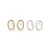 [오뜨르뒤몽드]round oval earring (2colors)