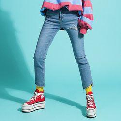 Triangle Slimfit Jeans(여성용)(girls)