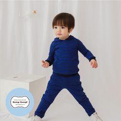 [긴팔실내복]베디후드(블루)