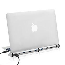 애니클리어 USB 랜허브 노트북 도킹스테이션 LANHUB
