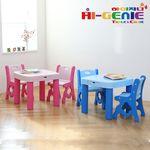 [무료배송] 하이지니 보드상판 유아동 책상&의자SET(2COLOR)