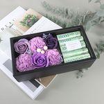 보라 용돈 플라워 박스 - 비누