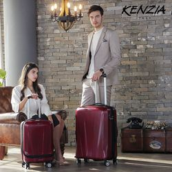 KENZIA]프론트 포켓 여행가방 20+28인치세트 KFZ-011