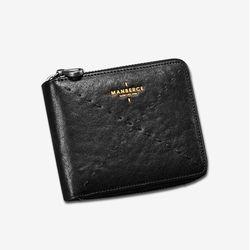 망베르스 가죽 가로형 반지갑 중지갑 MA9001