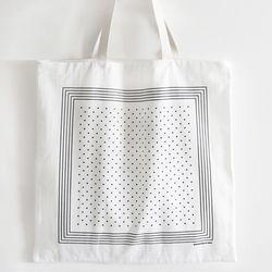 white scarf bag