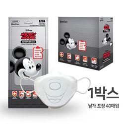 디즈니 미키마우스 황사 미세먼지 마스크 1박스