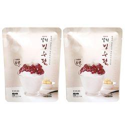 서울마님 알찬 빙수팥 1kg 2개묶음