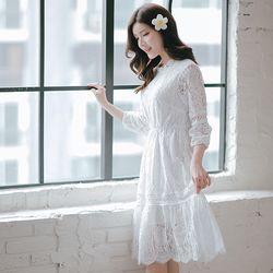 데이지 셀프웨딩원피스 브라이덜샤워 드레스