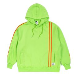 LINE SPORTS OVERSIZED HOODIE NEON GREEN