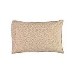 Floral Stream pillow cover - natural & mink (S)