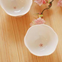 술잔(꽃잎모양)벚꽃