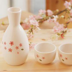 술병셋트(술병1+잔2)벚꽃(민자)