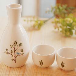 술병셋트(술병1+잔2)새와나무(민자)
