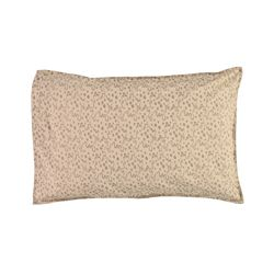 Floral Stream pillow cover - natural & mink (L)