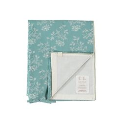 Hanako Floral duvet cover - light teal (S)