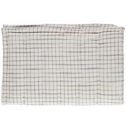 Hand Quilt comforter - ivory & pebble (S)