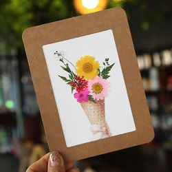 압화종이액자만들기(아이스크림) DIY세트