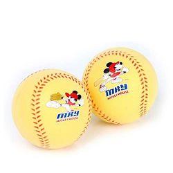 디즈니 야구공 미키마우스 폼볼 2p 안전야구공 안전구