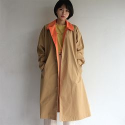 odd eye trench coat(2color)