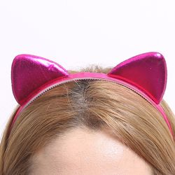 칼라 폼 고양이 머리띠 (푸치샤)
