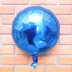 18인치 은박풍선 (블루라운드)