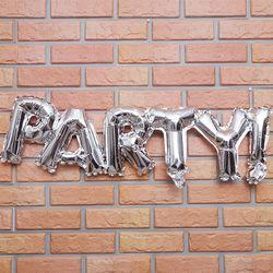 은박풍선 PARTY (실버)