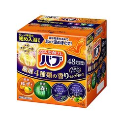 [일본직구] 바브 탄산입욕제 48정(4종류 향기 컬렉션)