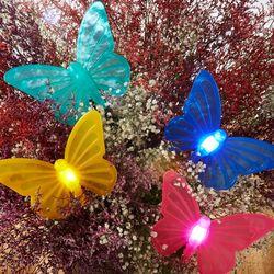 화분안 빛나는 나비 조명3006385